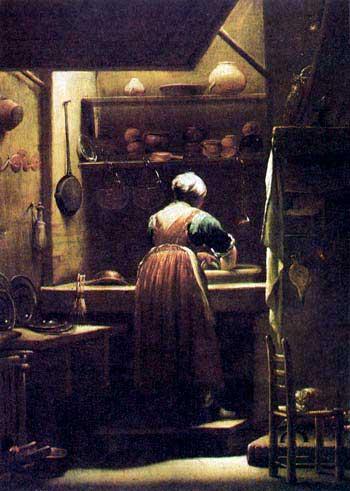 Giuseppe Maria Crespi (1665-1747): De kokkin.