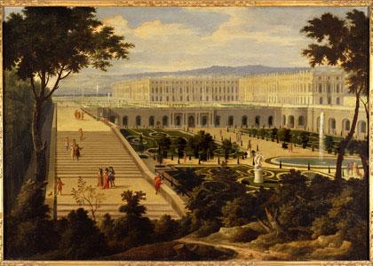 De oranjerie van Versailles (Allegrain)