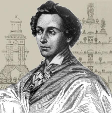 Portret van Antonin Carême - Bewerkt door C. Muusers