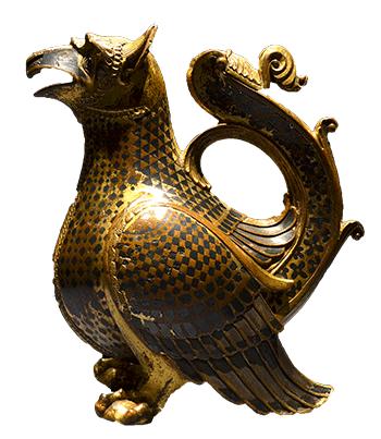 Aquamanile, 12th-century water vessel