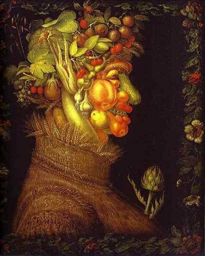 Zomer, Giuseppe Archimbaldo (1573). Bron: Wikimedia.