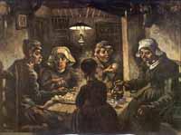 De Aardappeleters van Van Gogh
