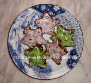 The first attempt at these cookies in 2007 (it was Christmas)