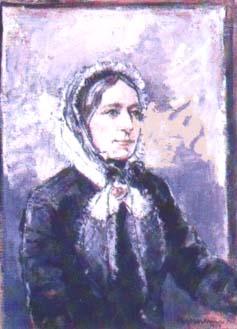 Portret van Henriëtte Davidis.