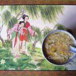 Chinese kippensoep met maïs