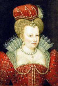 Portret van Marguerite de Valois, 16de eeuw. Bron: Wikimedia