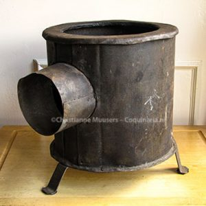 War cooking stove. With thanks to Carolina Verhoeven