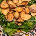 Salade met pastinaakchips