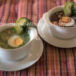 Poolse koude soep uit een Russisch kookboek