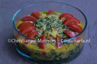 Romige spinazie