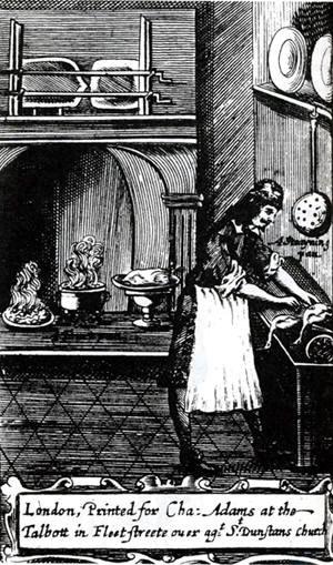 Gravure uit de Engelse editie van 'Le cuisinier François' (The French Cook)