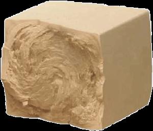 Een blokje bakkersgist