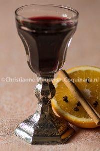 Traditionele bisschopswijn