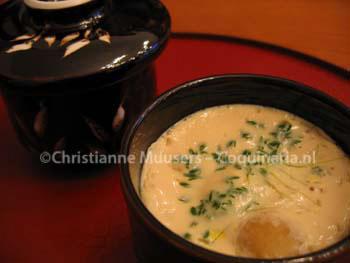 Chawan mushi, Japanse hartige gevulde custard