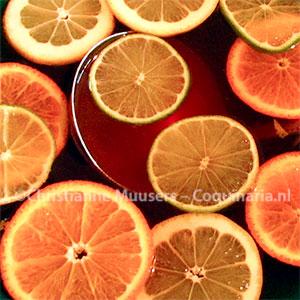 Colourful citrus fruit