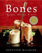 The cover of the first edition of 'Bones' by Jennifer McLagan