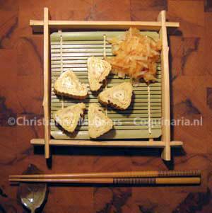 Dikke, Japanse omelet