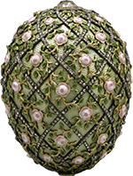 Fabergé-ei, 1910 (bron Wikimedia)