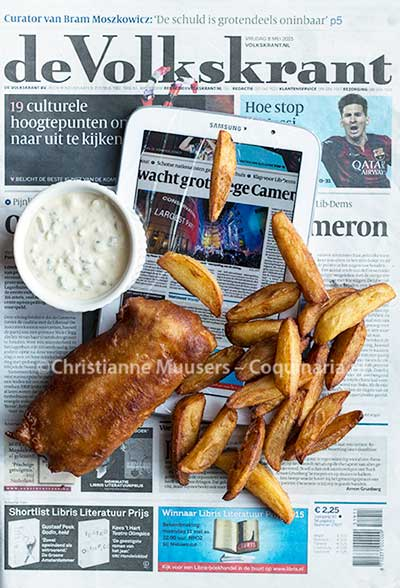 Fish 'n chips the modern way