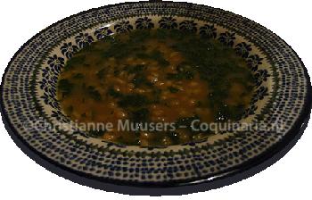 Dutch barley soup (1803)