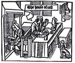 Houtsnede uit 'Chasteau de labour', 1512
