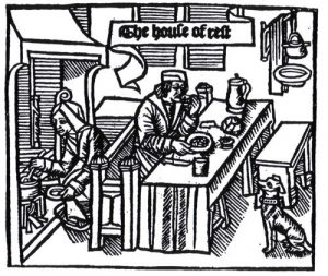Woodcut from 'Chasteau de labour', 1512