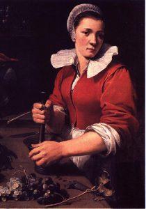 Keukenmeid, Frans Snyders (1579-1657), ca 1630