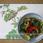 Pittige komkommersla uit China