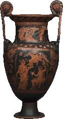 Een Lucaanse kratèr uitde 4de eeuw voor Christus