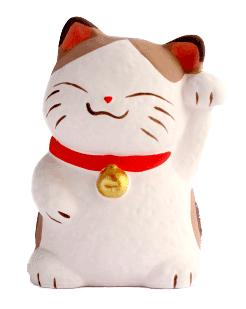 Japanese good luck cat, maneki neko