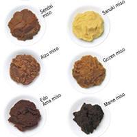 Diverse soorten miso