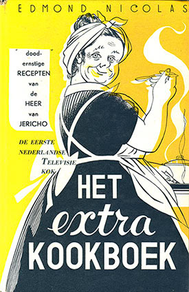 Kaft van Nicolas' Extra Kookboek (1955)