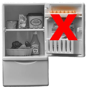 Eieren hoef je niet in de koelkast te bewaren