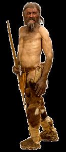 Oetzi de ijsman. Foto Thilo Parg / Wikimedia Commons Lizenz CC BY-SA 3.0