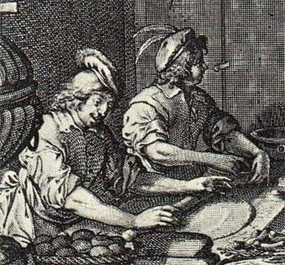 Pasteibakkers uit de 17de eeuw (Abraham Bosse)
