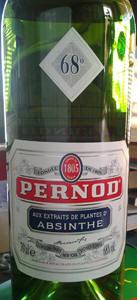 Pernod met 68% alcohol