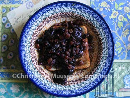 The 'sup' with prunes and raisins