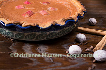 Kitchiner's Rhubarb Pie