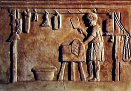 Roman butcher