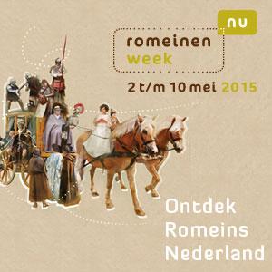 De poster van de Romeinenweek 2015