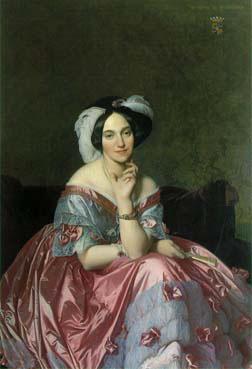 Portret van Betty Rothschild (1848, Jean-Auguste-Dominique Ingres)