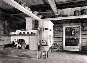 Russische stoof uit het begin van de 20ste eeuw (bron wikimedia)