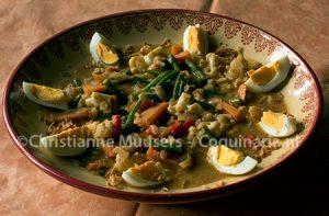 Vegetarische sambal-goreng