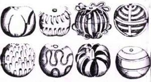 Perhaps the 'cut lemons' looked like these decorative oranges