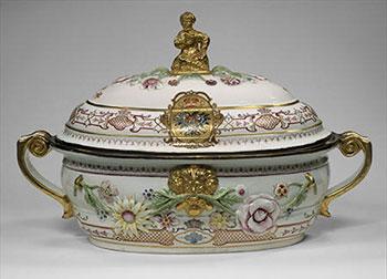 Soepterrine uit de 18de eeuw, ooit bezit van tsarina Anna Ivanovna