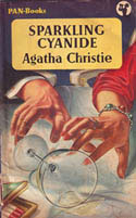 Sparkling cyanide, a detective novel by Agatha Christie