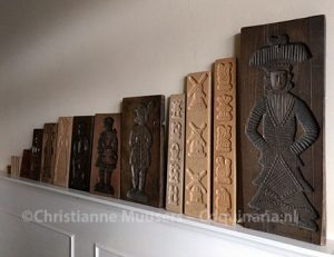 My 'collection' of wooden speculaas moulds