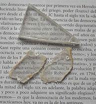 Spiegelglas. Foto ontleend aan wikipedia.es, gebruiker Midir