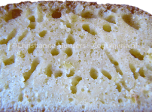 It is clear why this is called sponge cake
