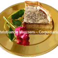 White tourte, a favourite of Pope Julius III